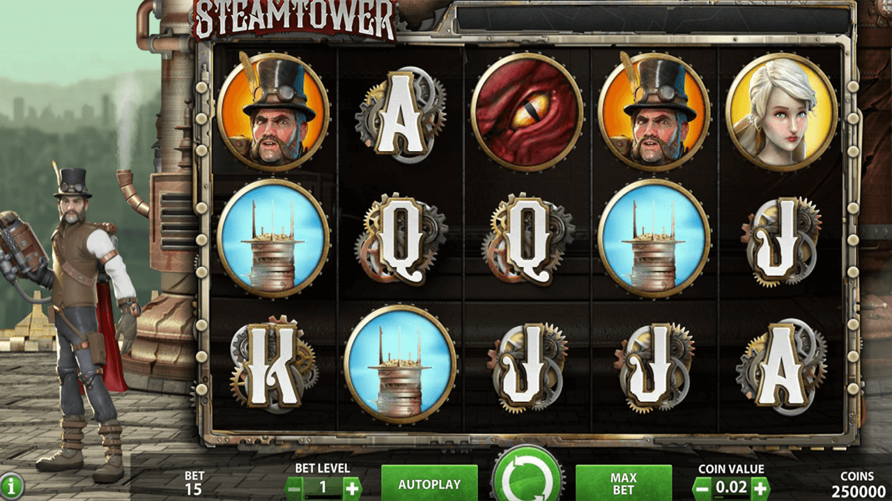 Steam Tower 1